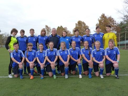Академия по футболу для девочек